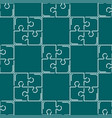 puzzle seamless pattern background vector image