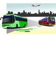 al 0216 bus 01 vector image vector image