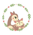 draw mom deer and baby