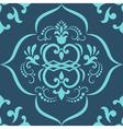 damask Elegant Floral Pattern vector image vector image