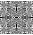 Design seamless uncolored swirl movement pattern vector image
