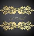 eid festival design vector image vector image