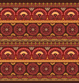 ethnic american native style wallpaper vector image vector image