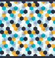 honeycomb background seamless pattern with vector image
