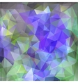 Modern geometric background with polygons vector image