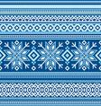 Scandinavian pattern seamless vector image vector image