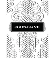 Classic Victorian fancy elements vector image vector image