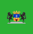 flag of dronten in the central netherlands vector image vector image