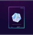 gem and diamond vector image