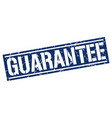 guarantee square grunge stamp vector image vector image
