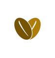 love coffee logo vector image vector image