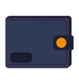 male leather wallet vector image vector image