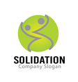 Solidation Design vector image vector image