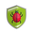 Virus infection bug icon