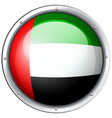 badge design for arab emirates vector image vector image