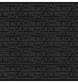 decorative pattern Black Friday vector image vector image