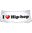 Hiphop vector image