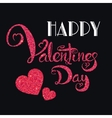 Valentines day card 1 vector image vector image