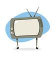 vintage retro television vector image