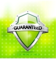 Eco friendly guarantee shield vector | Price: 1 Credit (USD $1)