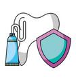 hygiene dental care vector image