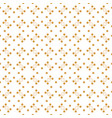 seamless pattern with lines and dots vector image vector image