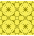 Yellow Decorative Retro Seamless Pattern vector image