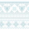 Christmas Scandinavian Card - for invitation vector image