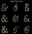 Ampersand Collections vector image vector image