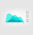 diagram elements color infographics some of chart vector image
