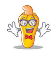 geek cashew character cartoon style vector image vector image