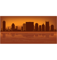 Nashville tennessee skyline vector | Price: 1 Credit (USD $1)