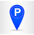 Parking point 001 vector image