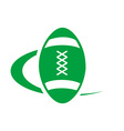 rugby-logo vector image