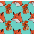 seamless background with animals vector image vector image