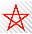 star pentagram eps icon vector image vector image