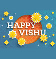 vishu festival vector image