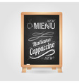 Chalk drawings Retro typography vector image