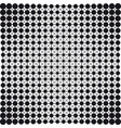 dots connection halftone abstract background vector image
