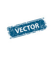 stamp texture rubber cliche imprint web or print vector image vector image