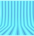vertical striped blue background 3d effect vector image vector image