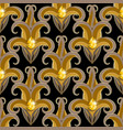 vintage jewelry damask 3d seamless pattern ornate vector image