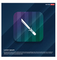 katana sword icon vector image