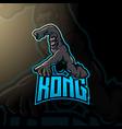 kong logo for esport gaming or team vector image vector image
