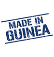 made in guinea stamp vector image vector image