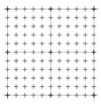 measured grid graph plotting grid corner ruler vector image