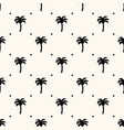 seamless geometric tropical pattern with vector image vector image