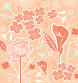 flower pattern set 1C vector image vector image