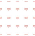 harmonica icon pattern seamless white background vector image vector image