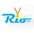 Sign symbol Rio olympics games 2016 vector image vector image